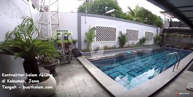 Kontraktor kolam renang di Kebumen