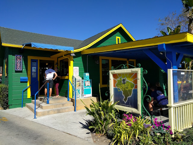 Cafe Brasil in Santa Cruz, California