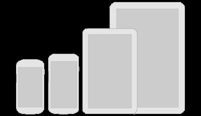 عرض، حجم الشاشة