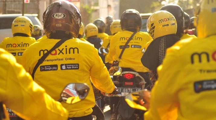 Cara dan syarat daftar driver Maxim