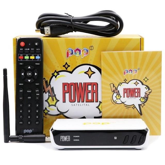 POP POWER TV NOVA ATUALIZAÇÃO V1.40 - 17/11/2020