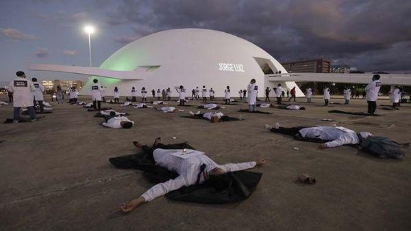 Brasil pasa a ser el cuarto país con más muertes por Covid-19
