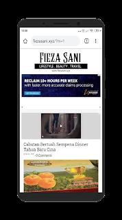 uminazrah.com Dapat Hadiah Top Komen Daripada fiezasani.xyz