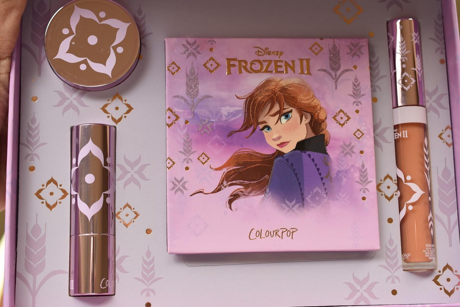 Anna Collection ColourPop Set (Disney Frozen 2)