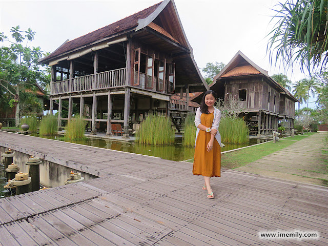Stay at the Malay traditional houses aged more than 100 years @ Terrapuri Heritage Village