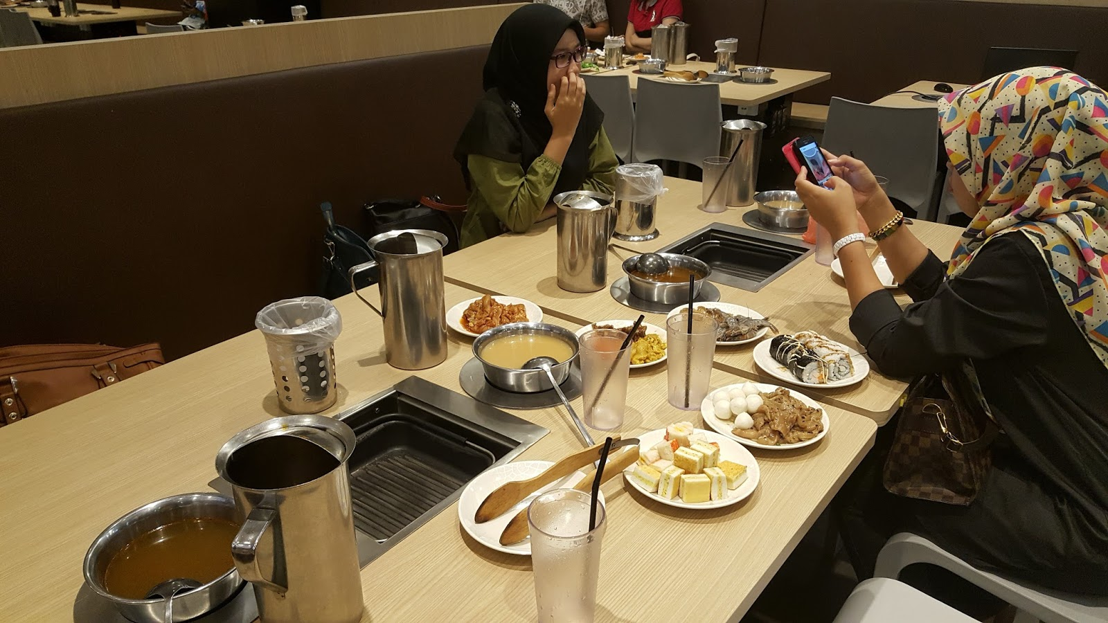 Seoul Garden Hot Pot with le girls ~ ღ ejay and her blog ღ