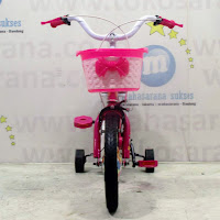 12 previa flower ctb sepeda anak