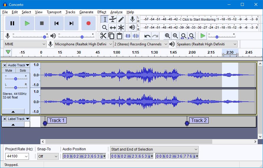 تحميل برنامج تحرير وتسجيل الصوت أوداسيتي اخر اصدار Audacity 2020 برابط مباشو من الموقع الرسمي مجانا