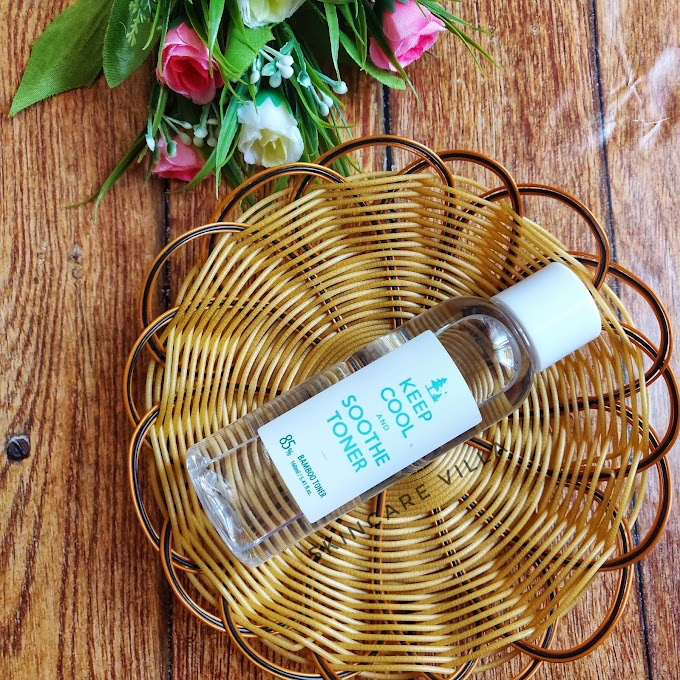 Keep Cool Soothe Bamboo Toner Review