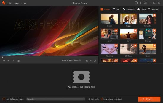 Aiseesoft Slideshow Creator 1.0.22 (x64) Multilingual