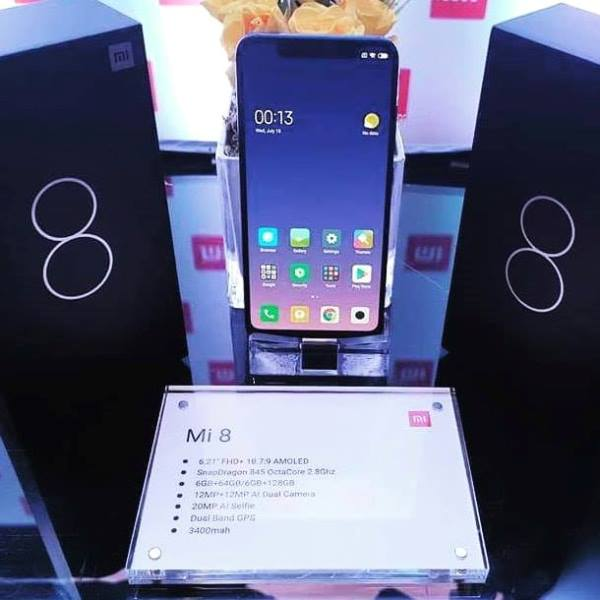 Xiaomi Mi 8 Now Available in PH; Price Starts at Php25,990
