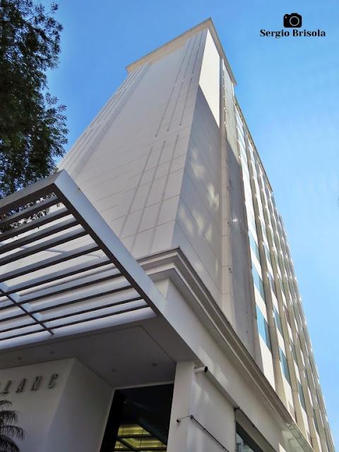 Perspectiva inferior do Edifício Mont Blanc - Higienópolis - São Paulo