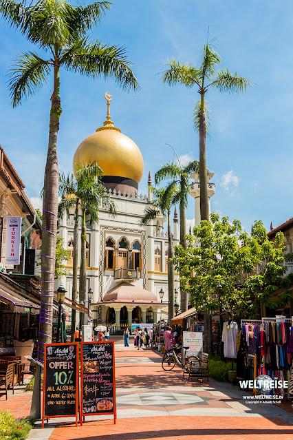 Moschee Masjid Sultan (Sultan Mosque)