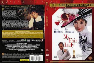 Carátula dvd:My Fair Lady (1964) Mi bella dama