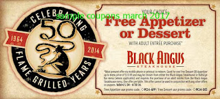 Black Angus Steakhouse coupons march