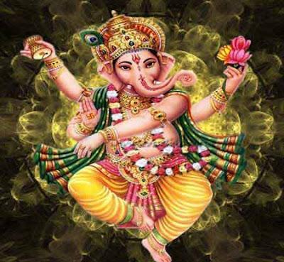 dancing ganpati hinduism vastu positive