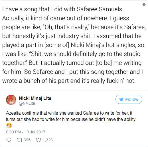 Nicki Minaj and Safaree Again On Social Media AGAIN