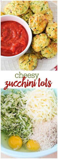 Cheesy Zucchini Tots