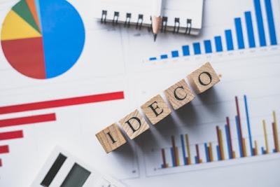 iDeCoの文字とグラフ