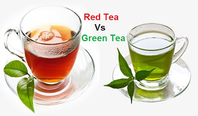 red tea vs green tea vs black tea
