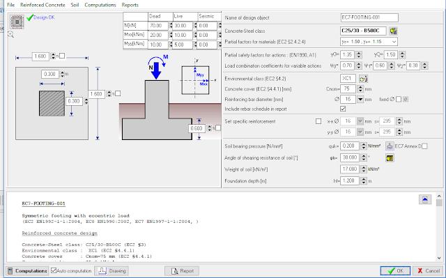 Software Analisa Pondasi Beton Bertulang