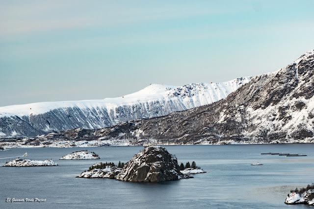 Islas Lofoten, paisaje de invierno por El Guisante Verde Project