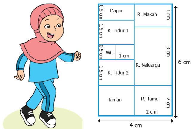 Denah Rumah Siti