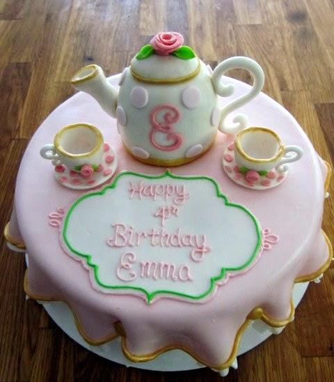 Darlin Designs Tea Party Cake