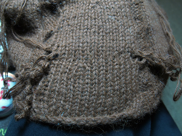 How To Fix A Moth Hole in Your Knit with Dayana Knits