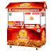 Booth, Logo, Banner, Poster dan Brosur Perusahaan Makanan Like Chick Fried Chicken
