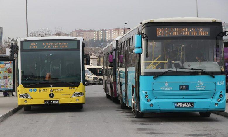 Tüm toplu taşıma otobüsleri İETT'ye bağlanıyor