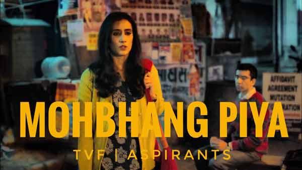 aspirants series mohbhang song lyrics