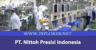 Lowongan Tahun 2020 PT NITTOH PRESISI Indonesia { NPI }  OPERATOR PRODUKSI
