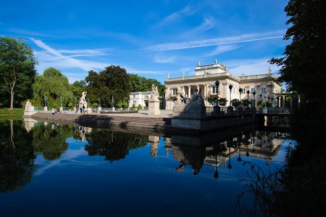 Palazzo sull'acqua-Parco Lazienki-Varsavia