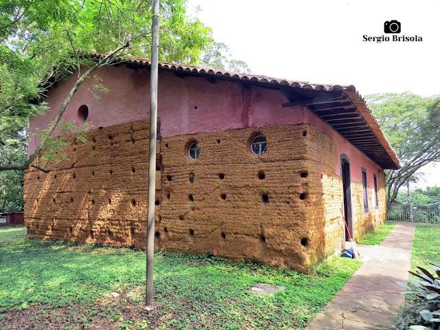 Vista da parte posterior da Capela do Morumbi - Morumbi - São Paulo