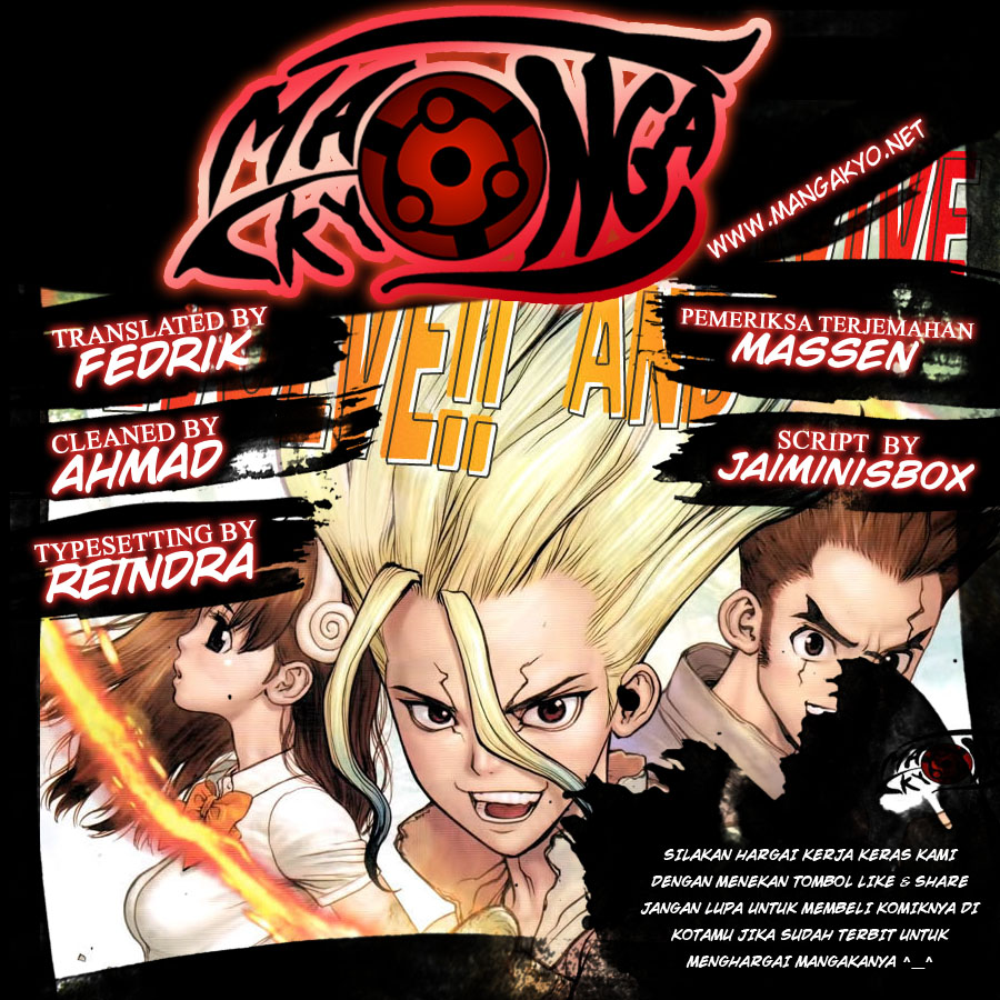Dr Stone Chapter 28-1