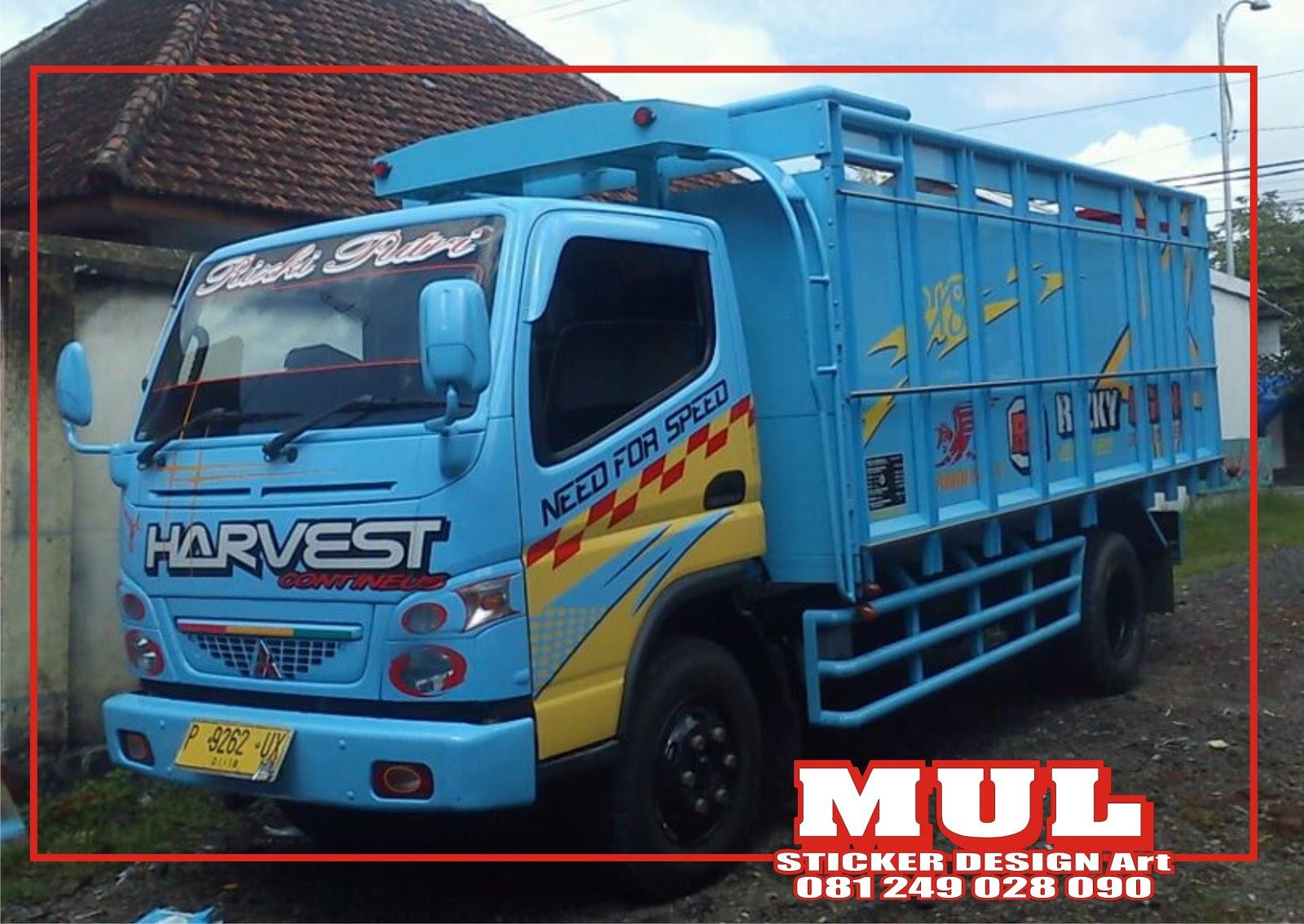 Mayar Cutting Sticker MAYAR Sticker Truck  BANYUWANGI