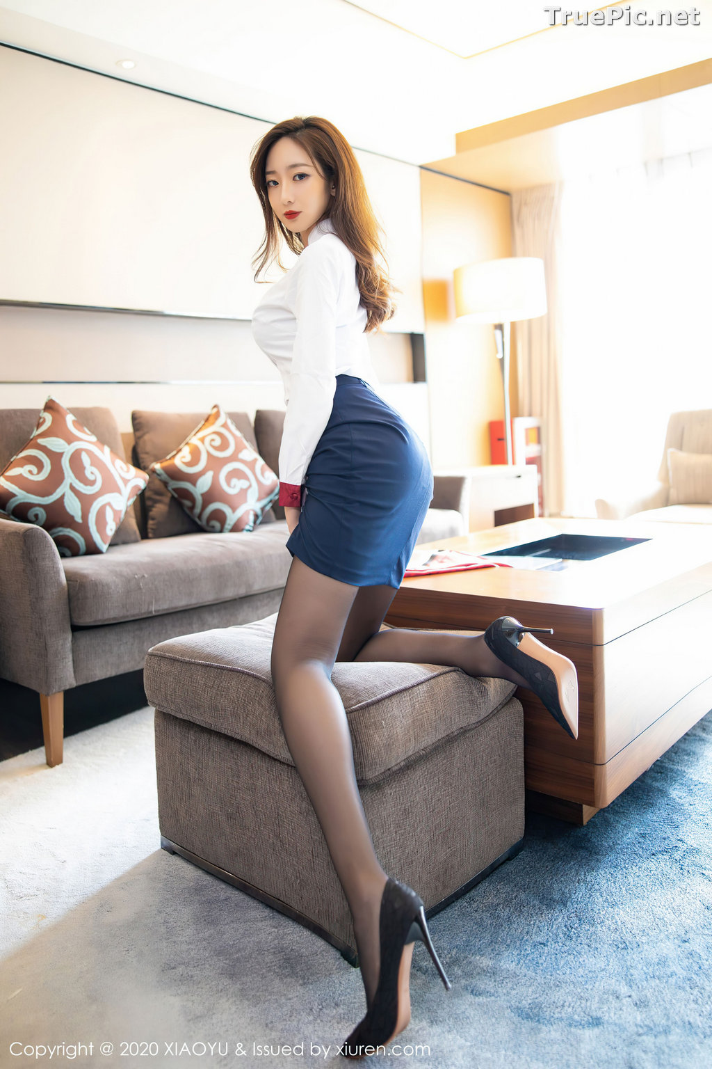 Image XiaoYu Vol.370 - Chinese Model - 安琪Yee - Affter Working Day - TruePic.net - Picture-8