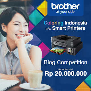 lomba blog printer brother