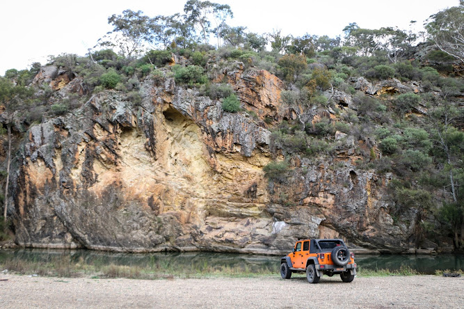 Turon River Camp Camping Ground Jeep NSW