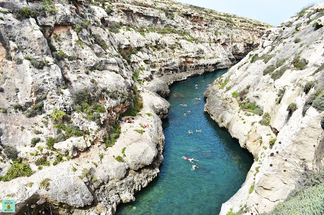 Wied Il-Ghasri, isla de Gozo (Malta)