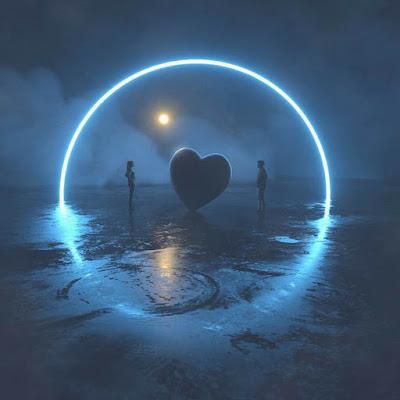 خلفيات فوتوشوب قلب حب ، صور رومانسية رائعة