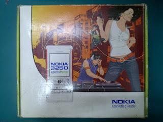 Dus Nokia 3250 Seken