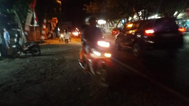 Banyak Pengendara Sepeda Motor Takut Kena Razia Karena Tak Pakai Helm