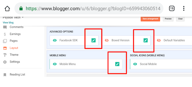 basic settings of blogging