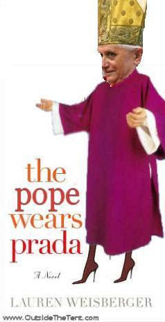 The Pope Wears Prada