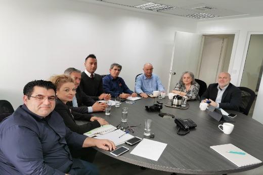 Ο Σύλλογος Εθελοντών Αιμοδοτών Αργολίδας συναντήθηκε με την  Επιτροπή «Ελλάδα 2021»