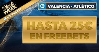 Paston promo Valencia vs Atletico 28-11-2020