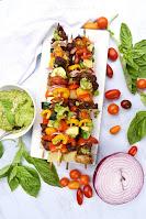 Pesto Steak Kebabs
