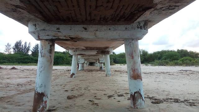 Buntwani bridge in Malindi photo